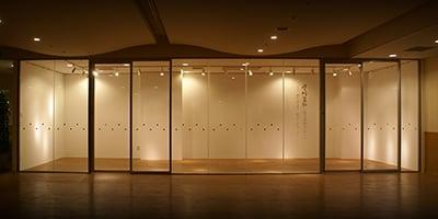 群馬大学医学部附属病院《星野富弘 花の詩画コーナー》設計・施工 2013