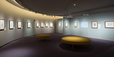 星野富弘美術館《開館25周年記念企画展》会場・図録 2016