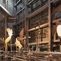 高崎市美術館《U.Gサトー展》会場・サイン 1996
