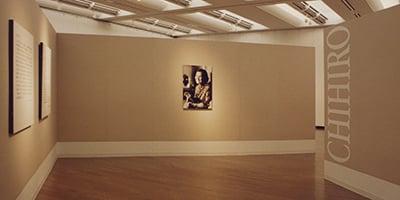 高崎市・高崎市美術館《いわさき ちひろ展》会場・サイン 1996