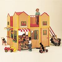 NPO法人 時をつむぐ会《ヨーロッパのおもちゃ展》会場・ポスター 2002