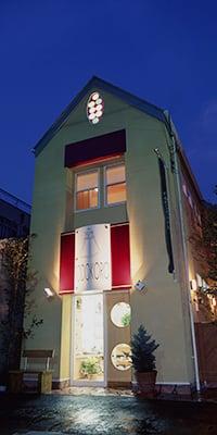 TODOKORO《宝飾・時計・バッグ店併用住宅》設計・監理 2000