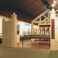 群馬県立歴史博物館《常設展示 富岡製糸コーナー》会場 2005